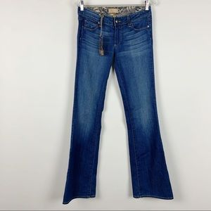 SOLD PAIGE Bell Canyon Flare Jeans New